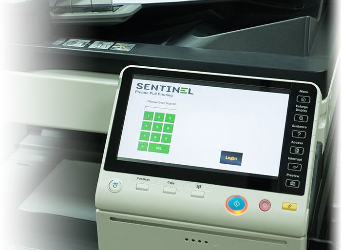 Sentinel Managed Print Services Software