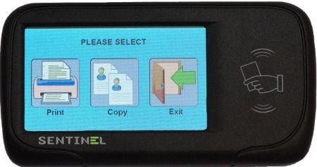Sentinel touchscreen controller